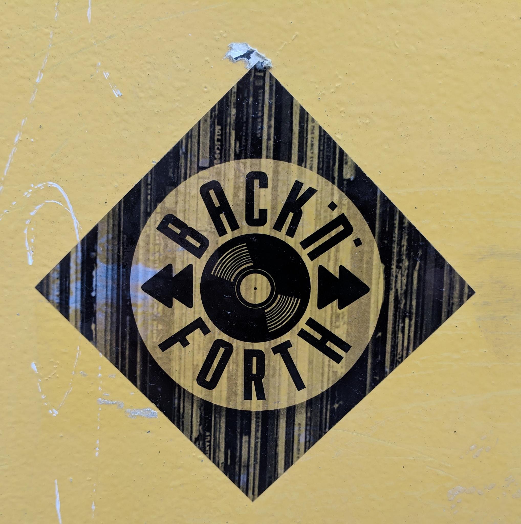 BACK'N'FORTH Radio Show (Banner)